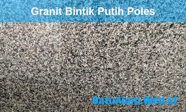 Harga Granit Bintik Putih Poles