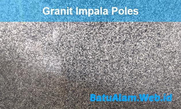Harga Granit Impala Poles